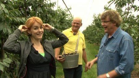 Henk Westbroek en Sofie van den Enk